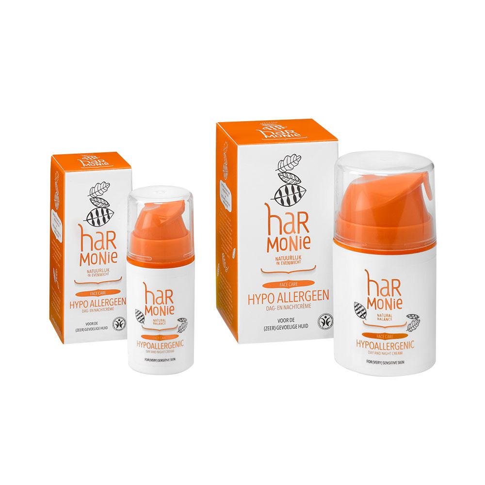 Hypoallergeen dag- en nachtcrème – 15 ml en 50 ml